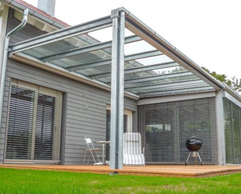 Balkon- und Terrassen-Überdachungen von Schittenhelm Metallhandwerk